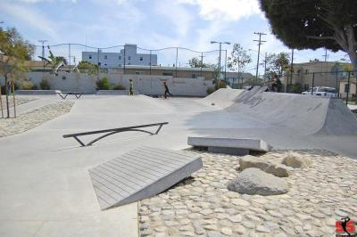 Long Beach McBride Skate Plaza