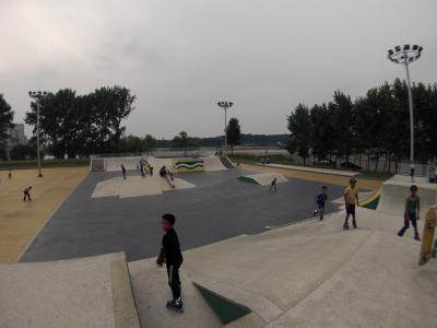 Ryugyong Health Complex Skatep