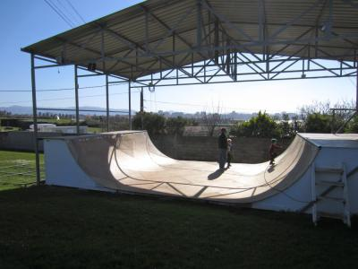 Gijon Camping Mini Ramp